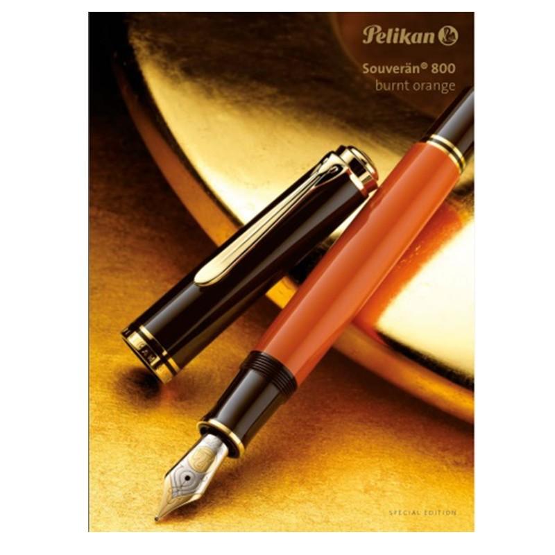 Penna PELIKAN Souverän 800 burnt orange SPECIAL EDITION