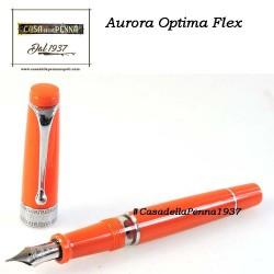 AURORA Optima Flex Orange - penna stilografica edizione limitata