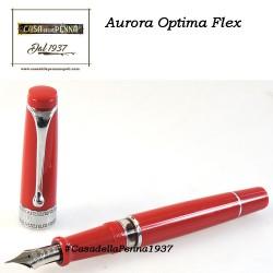 AURORA Optima Flex Red - penna stilografica edizione limitata