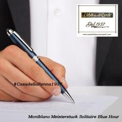 MONTBLANC Meisterstuck Solitaire Blue Hour - penna sfera midsize