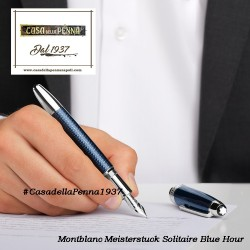 MONTBLANC Meisterstuck Solitaire Blue Hour - penna stilografica Le Grand