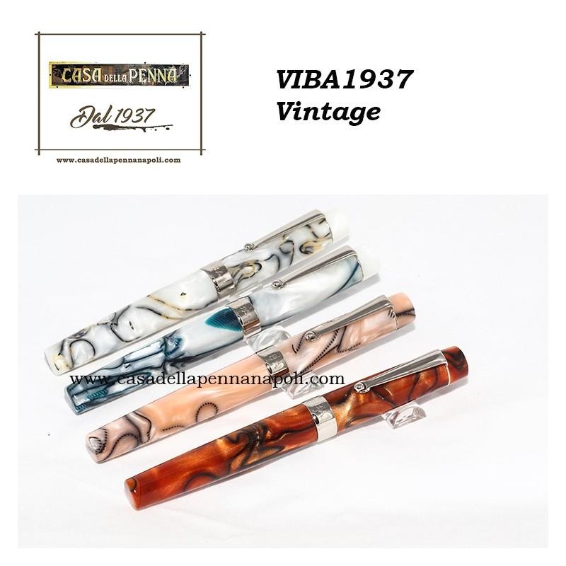VIBA 1937 Vintage - penna sfera/roller stilografica + refill omaggio
