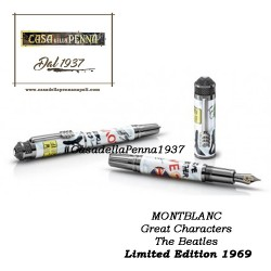MONTBLANC Great Characters The Beatles Limited Edition 1969 - penna stilografica