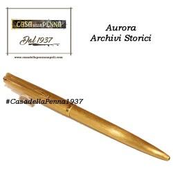 AURORA Archivi Storici - 055 - penna sfera satinata oro