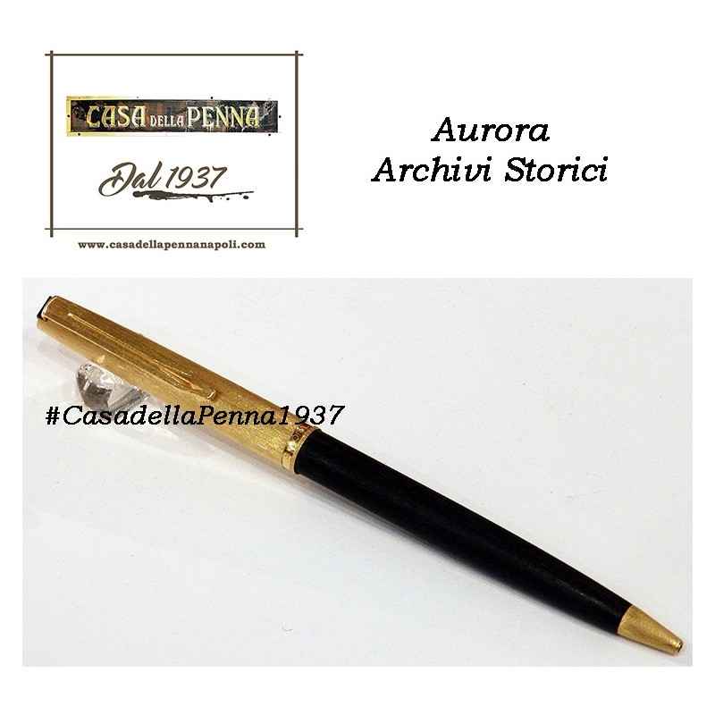 AURORA Archivi Storici - 054 - penna sfera cappuccio satinato oro