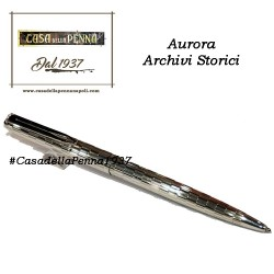 AURORA Archivi Storici - 041 - penna sfera argento sterling 925% guilloché quadretti