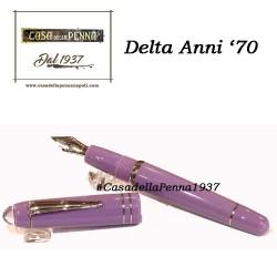 DELTA Anni '70 - Glicine - penna stilografica small