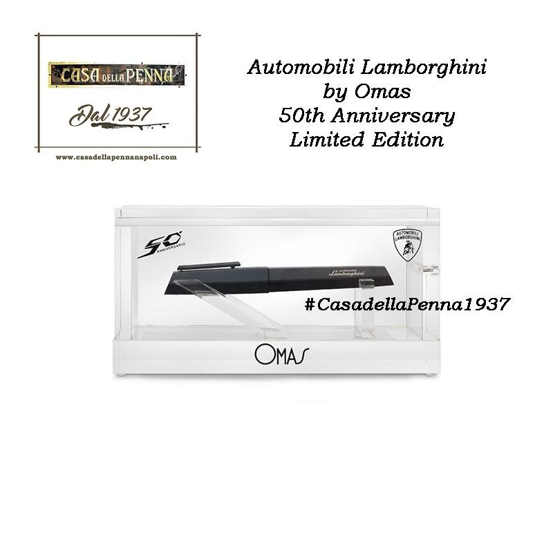OMAS Lamborghini  50th anniversary - limited edition + modellino omaggio + foderino