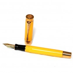 stilografica PARKER Duolfold Mandarin Yellow Giant