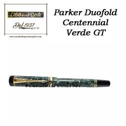 PARKER  Duofold centennial verde GT - penna roller - ultimo pezzo - offerta