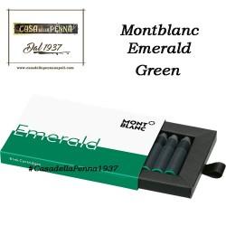 MONTBLANC cartucce stilografiche Emerald Green
