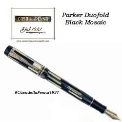 PARKER  Duofold Black Mosaic - penna stilografica - ultimo pezzo - offerta