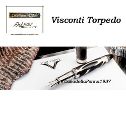 VISCONTI Torpedo - penna stilografica in fibra di carbonio