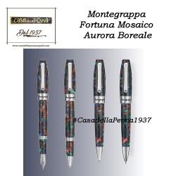 Montegrappa Fortuna Mosaico - Aurora Boreale - penna sfera/roller/stilografica