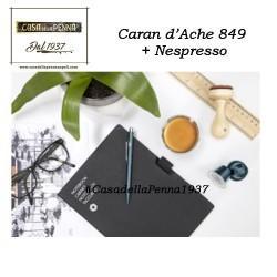Caran d'Ache 849 Nespresso - penna sfera riciclata da capsule
