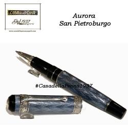 Aurora San Pietroburgo - penna roller - azzurra/rossa - ultimi pezzi