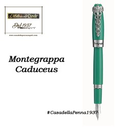 Montegrappa Fortuna Caduceus - Medical Green -  penna sfera/roller/stilografica