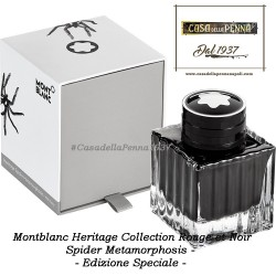 Montblanc Spider Metamorphosis - inchiostro - Heritage Collection Rouge et Noir - Edizione Speciale
