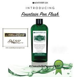 Monteverde Fountain Pen Flush - liquido per pulire la penna stilografica