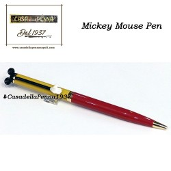Disney Mickey Mouse - giallo e rosso - penna sfera
