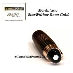 Montblanc StarWalker Rose Gold - penna stilografica / sfera