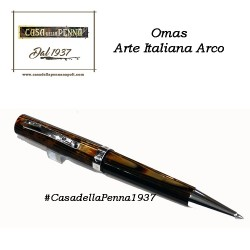 Omas Arte Italiana cellulide Arco brown - penna sfera