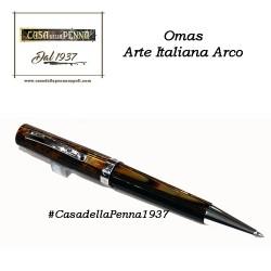 Omas Arte Italiana cellulide Arco brown - penna sfera