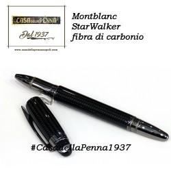 Montblanc StarWalker Fibra di Carbonio e rutenio - penna roller