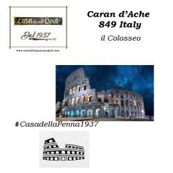 Caran d'Ache 849 Italy - edizione limitata - penna sfera