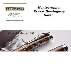 Montegrappa Ernest Hemingway Novel - penna stilografica Grigio D'Ambra