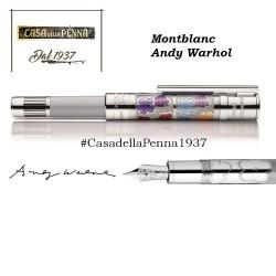 penna stilografica MONTBLANC - Andy Warhol - edizione speciale limitata e numerata 1928