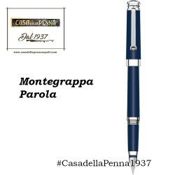 Montegrappa Parola - Blue Navy - penna sfera/roller/stilografica
