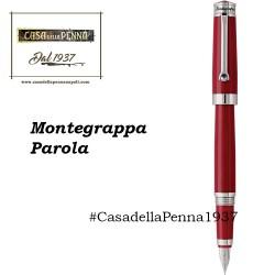 Montegrappa Parola - Rosso Amarone  - penna sfera/roller/stilografica