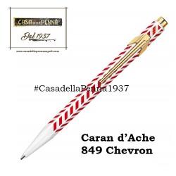 Caran d'Ache 849 Chevron - penna sfera - novità