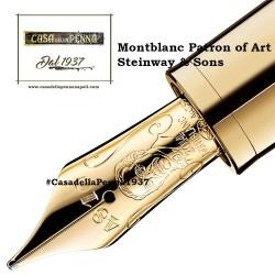 PARKER  Duofold Prestige Blu GT Chevron - penna stilografica - novità 2018 - unico pezzo