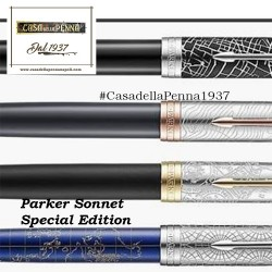 parker Sonnet Challenge - new special edition - penna sfera/stilografica