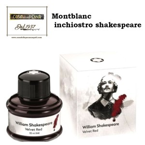 inchiostro Montblanc William Shakespeare