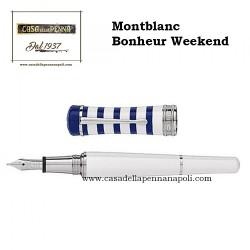 Montblanc Bonheur Weekend penna sfera/roller/stilografica