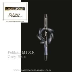 Pelikan M101N Grey-Blue - special Edition - penna stilografica
