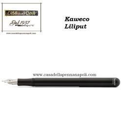 KAWECO Lilliput Nero - penna stilografica/sfera