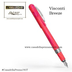 Visconti Breeze Cherry  - penna stilografica/penna roller Novità