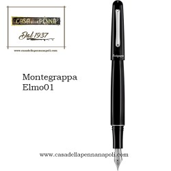 Montegrappa Elmo 01 nero - penna stilografica, penna roller, penna sfera