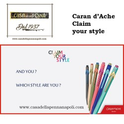 Caran d'Ache 849 CLAIM YOUR STYLE Limited Edition - penna sfera