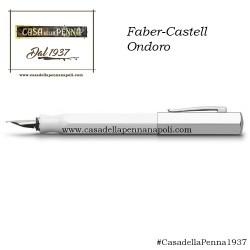 Faber-Castell Ondoro Bianco - penna stilografica/roller/sfera in OFFERTA!