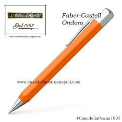 Faber-Castell Ondoro Arancione - penna stilografica/roller/sfera in OFFERTA!