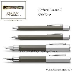 Faber-Castell Ondoro Tortora - penna stilografica/roller/sfera in OFFERTA!