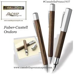 Faber-Castell Ondoro Smoked Oak - penna stilografica/roller/sfera in OFFERTA!