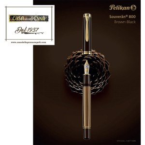 Pelikan Souveran 800 Stone Garden - penna Special Edition