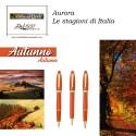 Visconti Pentagon Red - penna stilografica/penna roller