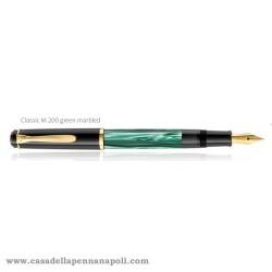 PELIKAN Classic 200 Green-Marbled - stilografica